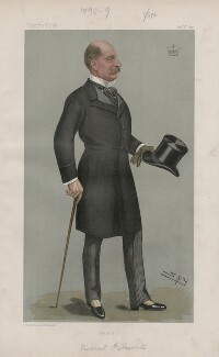 Evelyn Edward Thomas Boscawen, 7th Viscount Falmouth ('Men of the Day. No. 700.'), by Sir Leslie Ward - NPG D44889