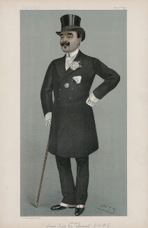 Luis Maria Pinto, Marquess De Soveral ('Men of the Day. No. 704.'), by Sir Leslie Ward - NPG D44894
