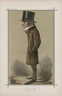 William Ewart Gladstone, by Carlo Pellegrini, printed by  Vincent Brooks, Day & Son - NPG D44909