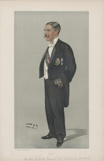 Sir Walter Francis Hely-Hutchinson ('Men of the Day. No. 717.'), by Sir Leslie Ward - NPG D44915