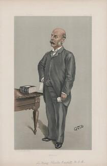 Sir Henry Burdett ('Men of the Day. No. 718.'), by Sir John Paget Mellor, 1st Bt - NPG D44916