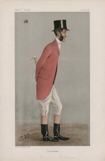 William Henry Berkeley Portman, 2nd Viscount Portman ('Statesmen. No. 702.'), by Sir Leslie Ward - NPG D44932