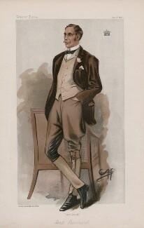 Henry de Vere Vane, 9th Baron Barnard ('Statesmen. No. 704.'), by George Algernon Fothergill - NPG D44939