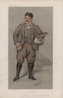 Edwin Austin Abbey ('Men of the Day. No. 733.'), by Sir Leslie Ward - NPG D44941