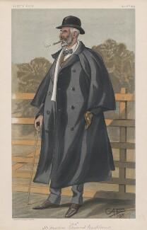 Sir Jonathan Edmund Backhouse, 1st Bt ('Men of the Day. No. 734.'), by George Algernon Fothergill - NPG D44943