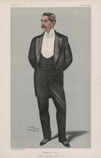 Henry White ('Men of the Day. No. 741.'), by Sir Leslie Ward - NPG D44952
