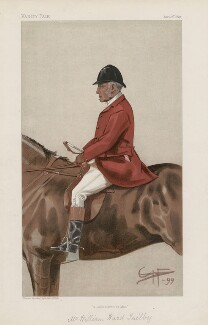 William Ward Tailby ('Men of the Day. No. 744.'), by George Algernon Fothergill - NPG D44955