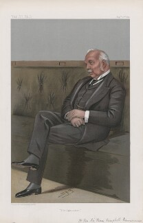 Sir Henry Campbell-Bannerman ('Men of the Day. No. 756.'), by Sir Leslie Ward - NPG D44973