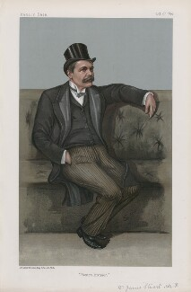James Stuart (Statesmen. No. 715.'), by Harold Wright ('Stuff') - NPG D44981