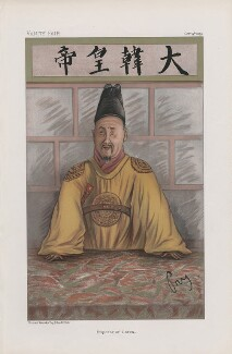 Emperor Gwangmu of Korea ('Sovereigns. No. 24.'), by 'Pry' - NPG D44983