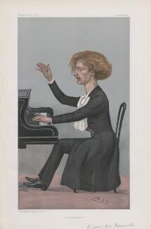Ignace Jan Paderewski ('Men of the Day. No. 769.'), by Sir Leslie Ward - NPG D44993