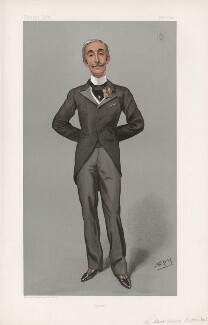 Sir Edward Albert Sassoon, 2nd Bt ('Statesmen. No. 717.'), by Sir Leslie Ward - NPG D44998