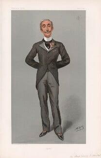 Sir Edward Albert Sassoon, 2nd Bt ('Statesmen. No. 717.'), by Sir Leslie Ward - NPG D44998