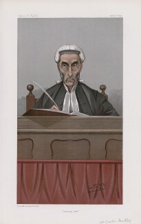 Henry Burton Buckley, 1st Baron Wrenbury ('Judges. No. 55.'), by Sir Leslie Ward - NPG D45007