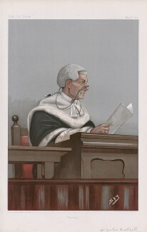 Sir Thomas Townsend Bucknill ('Judges. No. 56.'), by Sir Leslie Ward - NPG D45012