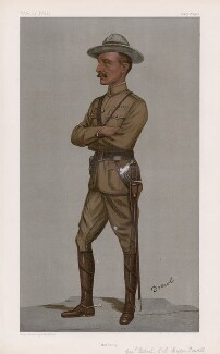 Robert Baden-Powell ('Men of the Day. No. 782.'), by Sir Leslie Ward - NPG D45020