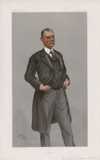 Sir Frederick Treves, 1st Bt ('Men of the Day. No. 784.'), by Sir Leslie Ward - NPG D45022