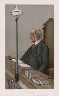Sir Albert de Rutzen ('Men of the Day. No. 788.'), by Arthur George Witherby ('Wag') - NPG D45026