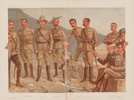 'A General Group', by Sir Leslie Ward - NPG D45041