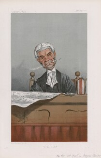 Lord Herbert Hardy Cozens-Hardy, 1st Bt ('Judges. No. 61.'), by Sir Leslie Ward - NPG D45049