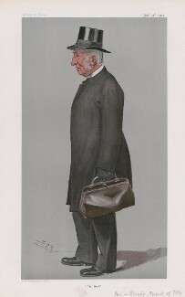 James John Hornby ('Men of the Day. No. 800.'), by Sir Leslie Ward - NPG D45050