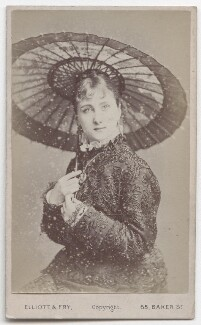 Maud Branscombe, by Elliott & Fry - NPG x193213