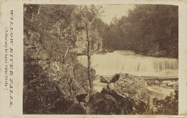 'Willow River Falls (Tributary to Lake Saint Croix)', by Unknown photographer - NPG Ax68173