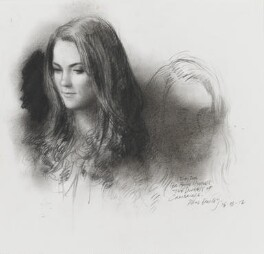 Catherine, Duchess of Cambridge, by Paul Emsley - NPG 7002