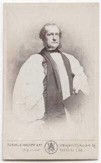 George Augustus Selwyn, by Samuel Alexander Walker - NPG x193216