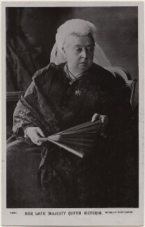 Queen Victoria, by Alexander Bassano, published by  J. Beagles & Co - NPG x193022