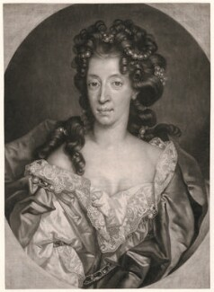 Mary of Modena, by John Smith, after  Nicolas de Largillière - NPG D45878