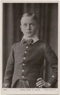 Prince Henry, Duke of Gloucester, by Lafayette, published by  Rotary Photographic Co Ltd - NPG x193233