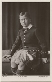 Prince George, Duke of Kent, by Lafayette, published by  Rotary Photographic Co Ltd - NPG x193235