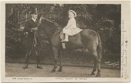 Prince Henry, Duke of Gloucester and an unknown man, by Lafayette, published by  Rotary Photographic Co Ltd - NPG x193242