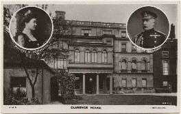 'Clarence House' (Princess Louise, Duchess of Connaught (née Princess of Prussia); Prince Arthur, 1st Duke of Connaught and Strathearn), published by J. Beagles & Co, after  Lafayette, and after  Horatio Nelson King - NPG x193247