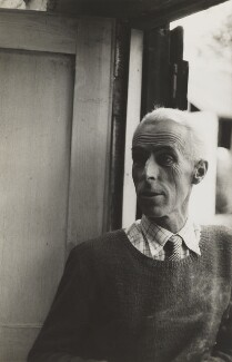 John Piper, by Walker Evans - NPG P1988