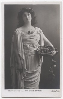 Lillah McCarthy, by W. & D. Downey, published by  Rotary Photographic Co Ltd - NPG x193279