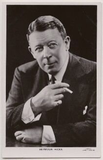 Sir (Edward) Seymour Hicks, by Janet Jevons - NPG x198118