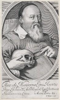 Sir Theodore Turquet de Mayerne, by William Elder, after  Unknown artist - NPG D45880