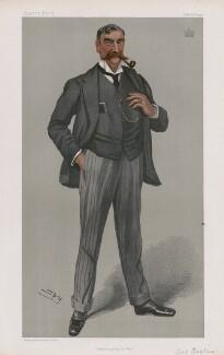 George Fitz-Roy Henry Somerset, 3rd Baron Raglan ('Statesmen. No. 731.'), by Sir Leslie Ward - NPG D45053