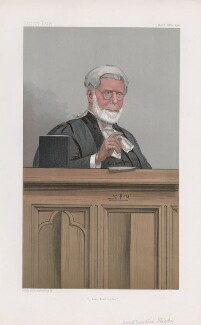 Sir John Rigby ('Judges. No. 62.'), by Sir Leslie Ward - NPG D45059