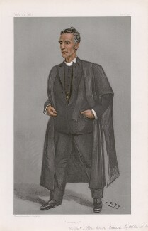 Hon. Edward Lyttelton ('Men of the Day. No. 809.'), by Sir Leslie Ward - NPG D45065