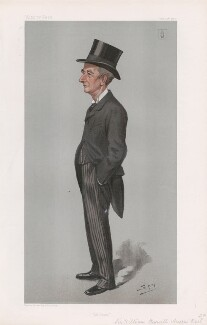 Sir William Reynell Anson, 3rd Bt ('Statesmen. No. 737.'), by Sir Leslie Ward - NPG D45070