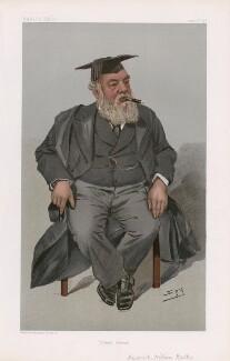 Frederick William Walker ('Men of the Day. No. 813.'), by Sir Leslie Ward - NPG D45072