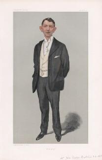John George Butcher, Baron Danesfort ('Men of the Day. No. 829.'), by Sir Leslie Ward - NPG D45091