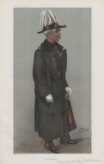 Sir Henry Trotter, 11th of Mortonhall and 2nd of Charterhall ('Men of the Day. No. 832.'), by Sir Leslie Ward - NPG D45100