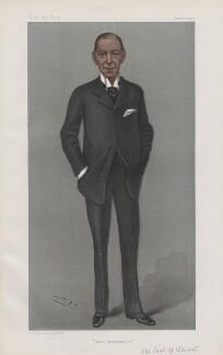 Hamilton John Agmondesham Cuffe, 5th Earl of Desart ('Men of the Day. No. 833.'), by Sir Leslie Ward - NPG D45101