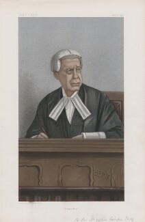 Charles Swinfen Eady, 1st Baron Swinfen ('Judges. No. 65.'), by Sir Leslie Ward - NPG D45105