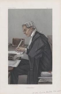 Sir John Lawson Walton ('Statesmen. No. 747.'), by Sir Leslie Ward - NPG D45108