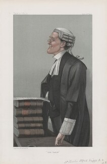 Charles Alfred Cripps, 1st Baron Parmoor ('Statesmen. No. 750.'), by Sir Leslie Ward - NPG D45113
